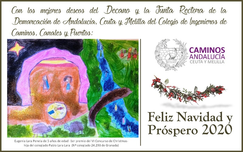 🎄 FELICITACIÓN DE NAVIDAD 2019 de Caminos Andalucía, Ceuta y Melilla