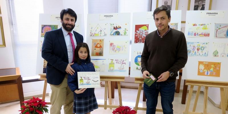 Lola Martínez López se despide del  Concurso de Christmas recogiendo en Sevilla el segundo premio