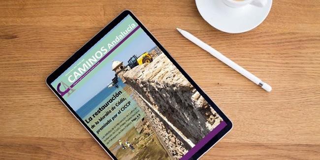 Disponible la revista de Caminos Andalucía ENE 2020