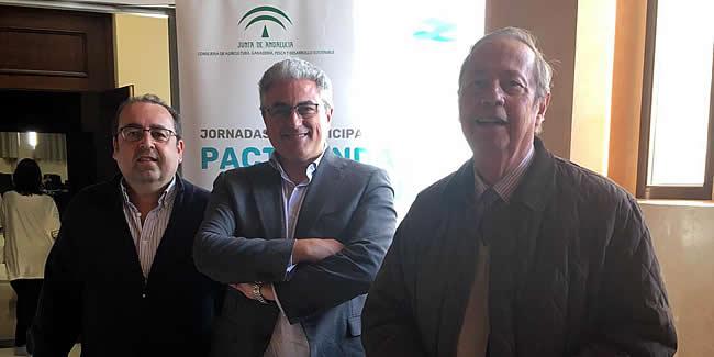 Convocatoria a los Ingenieros de Caminos andaluces a participar en el Pacto Andaluz del Agua. Cita el 12 de febrero