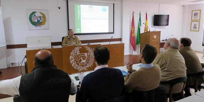 Proactiva primera reunión sobre el Pacto Andaluz del Agua