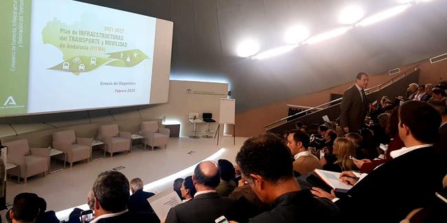 Estamos presentes en las jornadas participativas para la aprobación del nuevo Plan de Infraestructuras del Transporte y la Movilidad en Andalucía #PITMA 2021/2027