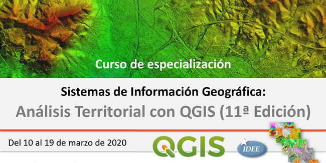 Curso de Especialización en SIG: Análisis Territorial con QGIS