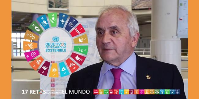 Entrevista al Decano dentro del programa 17 Retos de la ODS de la ETSICCP de la Universidad de Granada