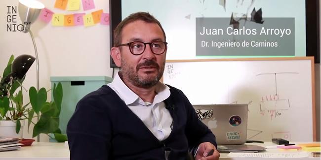 Entrevista a JUAN CARLOS ARROYO PORTERO. Presidente de CALTER, socio de CINTER y de INGENIO.XYZ, y Profesor de Estructuras de la UPM