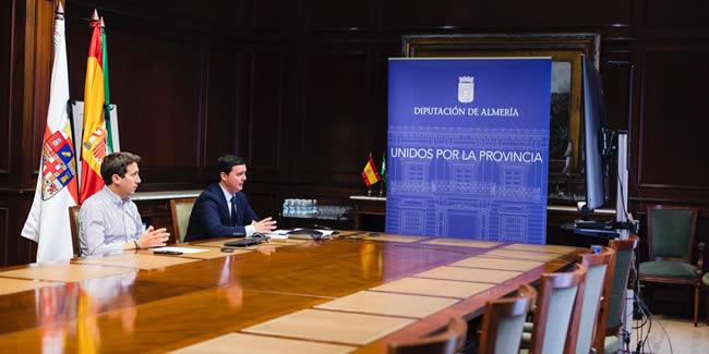 Los representantes del Colegio reclaman a la Diputación de Almería licitaciones e inversiones reales en obra pública y consenso para hacerlas realizables