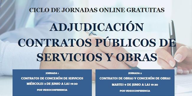 Jornada Online Gratuita Sobre Adjudicación Contratos Públicos De Obras