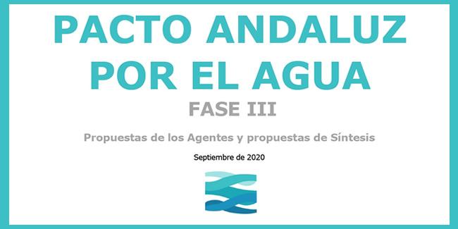 Puesta en común de las aportaciones al Pacto Andaluz por el Agua
