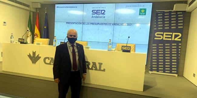 El Decano asiste a la presentación de los Presupuestos de la Junta de Andalucía