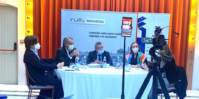 El Decano apoya las demandas a los fondos europeos de Gaesco para Sevilla y su provincia