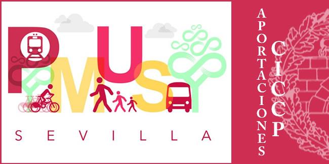 Alegaciones de los Ingenieros de Caminos, Canales y Puertos al Plan de Movilidad Urbana Sostenible de Sevilla