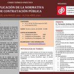 Aplicación de la Normativa de Contratación Pública