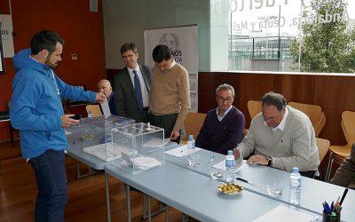Luis Moral Ordóñez, elegido Decano, y Enrique Otero Benet Vicedecano, de la Demarcación