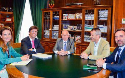 El Colegio y la Diputación de Almería inician su colaboración mutua