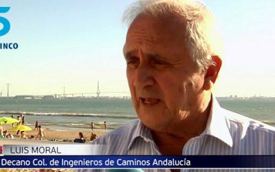 Entrevistas al Decano Luis Moral sobre los puentes en España tras la caída del Puente Moranti de Italia