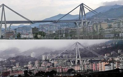 """Artículo. """"El viaducto sobre el Polcevera en Génova: Claves sobre su diseño e hipótesis de rotura"""" por Alejandro Castillo Linares"""