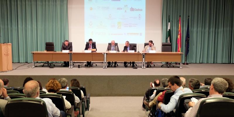 Preponderamos la importancia del agua en nuestro ADN profesional en la apertura del SIAGA 2018 en Huelva