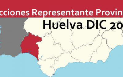 Elecciones Representante Provincial Huelva DIC 2018
