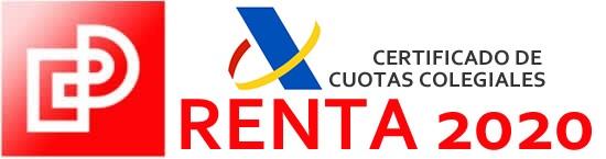 Disponible el Certificado de Cuotas Colegiales para la Renta