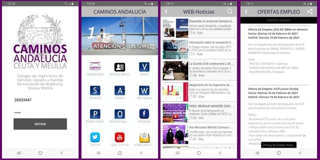 APP de la Demarcación CICCP Andalucía