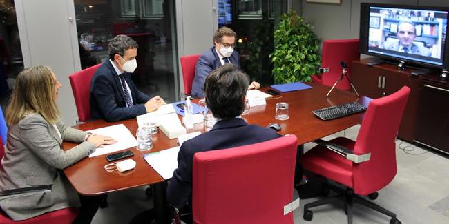 Reunión al más alto nivel entre el CICCP y la Consejería de Fomento, Infraestructuras y Ordenación del Territorio