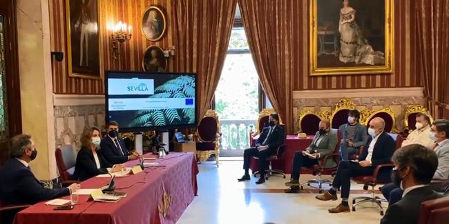El Decano en la presentación de la ampliación del Metrocentro y el corredor verde de San Francisco Javier y Luis de Morales