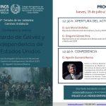 Conferencia online 'Bernardo de Gálvez y la independencia de los Estados Unidos'