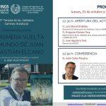 Conferencia online 'La primera vuelta al mundo de Juan Sebastián Elcano'